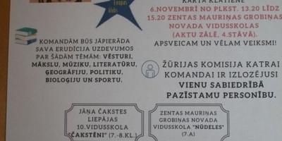 """Noslēdzies konkurss """"Latvijai 101"""""""