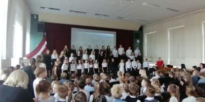 Valsts svētku koncerti Grobiņā