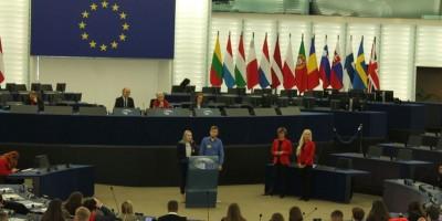 """""""Euroscola"""" projekts Strasbūrā"""