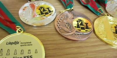 Grobiņnieki izcīna medaļas Liepājas KSS atklātajā šaha čempionātā