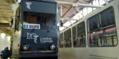 Ekskursija uz Liepājas Tramvaju depo
