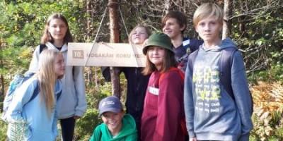 Latvijas Valsts meži piedāvātā ekspedīcija mežā