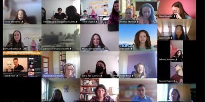 """Erasmus + projektā """"Radošums un motivācija"""" 1. diena"""