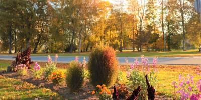 Košās rudens krāsas
